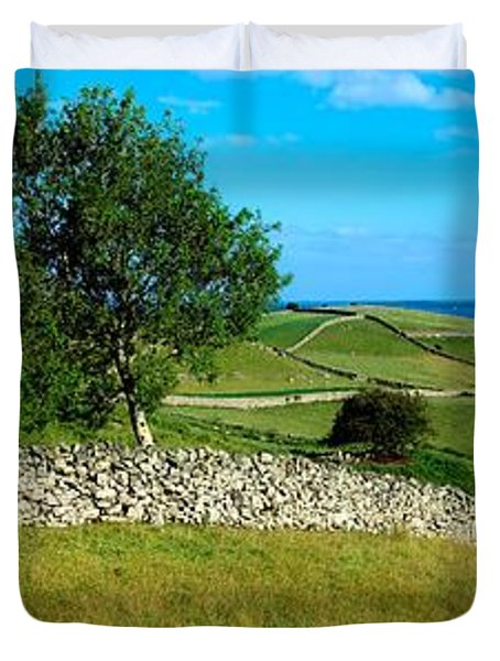 Co Galway, Connemara, Lough Corrib Duvet Cover by The Irish Image Collection