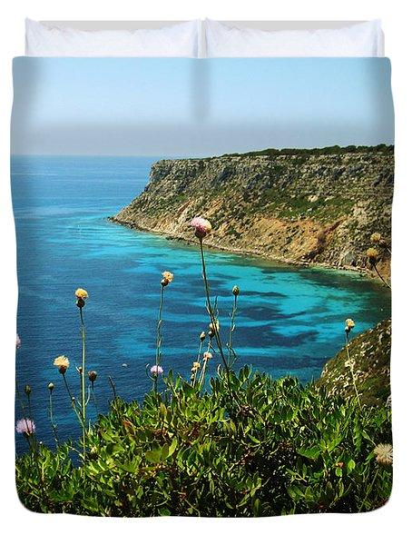 Coast Duvet Cover by Oliver Johnston