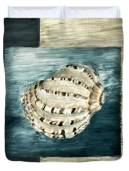 Coastal Jewel Duvet Cover by Lourry Legarde