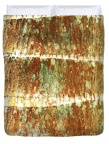 Coconut Palm Bark 2 Duvet Cover by Brandon Tabiolo - Printscapes