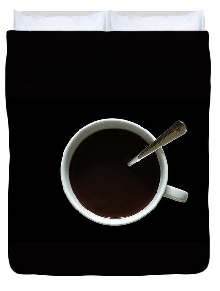 Coffee Cup Duvet Cover by Frank Tschakert