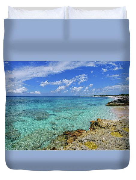 Color And Texture Duvet Cover by Chad Dutson