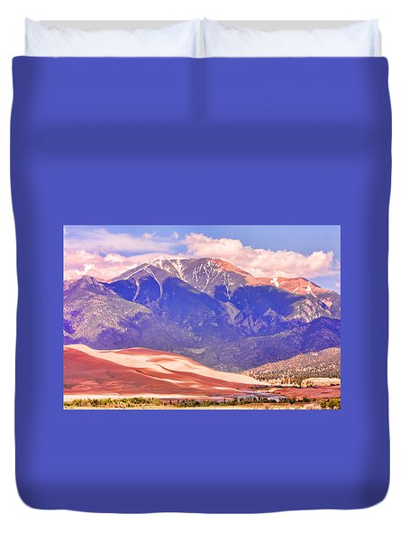 Colorado Great Sand Dunes National Park  Duvet Cover by James BO  Insogna