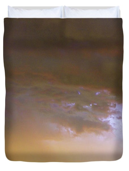 Colorful Colorado Cloud To Cloud Lightning Striking Duvet Cover by James BO  Insogna