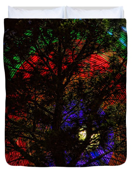 Colorful Tree Duvet Cover by James BO  Insogna