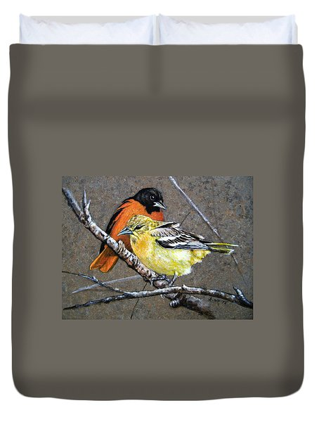 Comforting Duvet Cover by Stan White