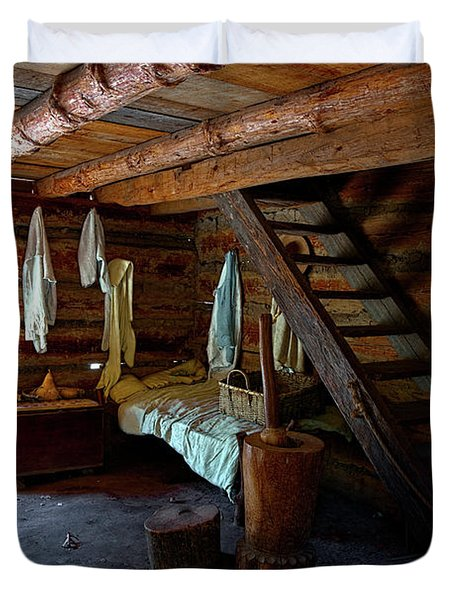 Comfy Corner Duvet Cover by Christopher Holmes
