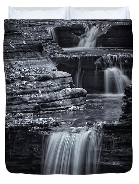 Coming Down Gently Duvet Cover by Evelina Kremsdorf