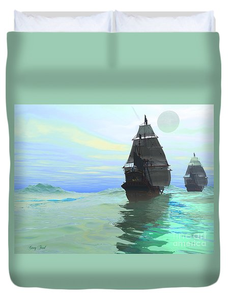 Consort Duvet Cover by Corey Ford
