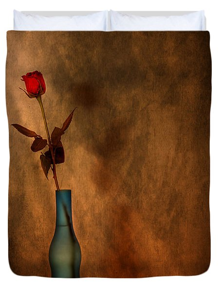 Contemplation Duvet Cover by Evelina Kremsdorf