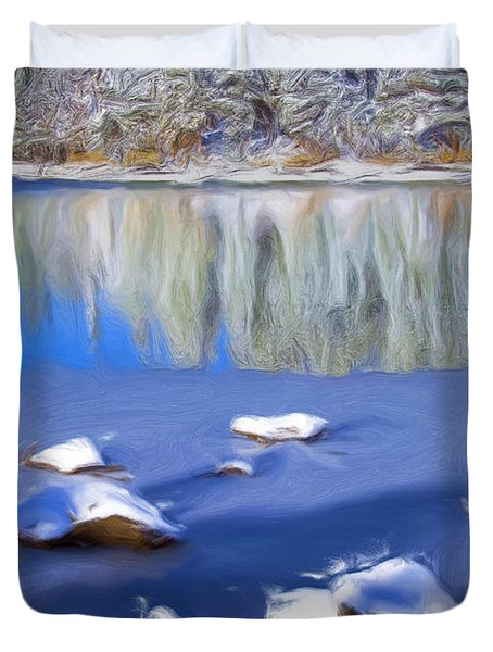 Cool Impression Duvet Cover by Chris Brannen