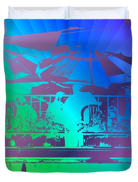 Copacabana Duvet Cover by Tim Allen