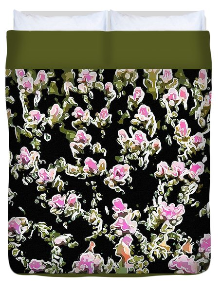 Coral Spawning  Duvet Cover by Lanjee Chee