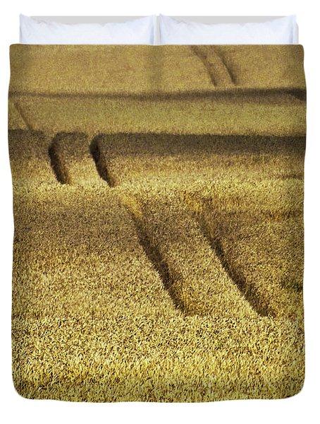 Cornfield Duvet Cover by Heiko Koehrer-Wagner