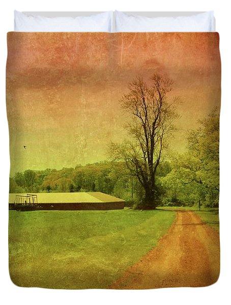 Country Living - Bayonet Farm Duvet Cover by Angie Tirado