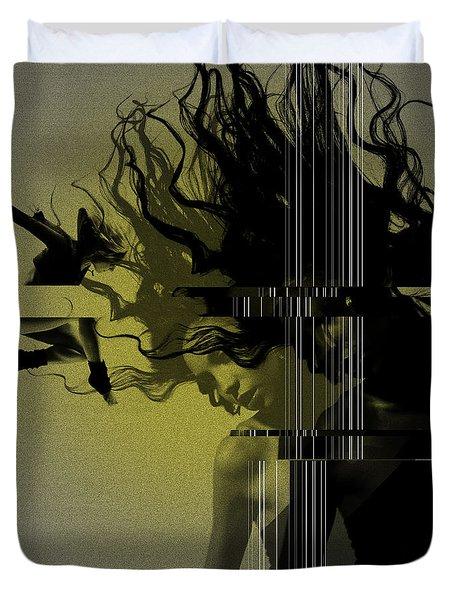 Crash Duvet Cover by Naxart Studio