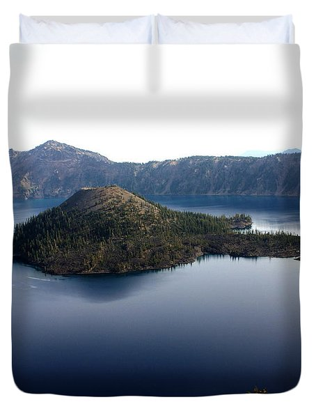 Crater Lake 2 Duvet Cover by Marty Koch