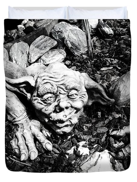Creepy ... Duvet Cover by Juergen Weiss