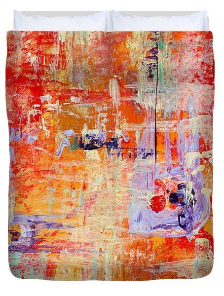 Crescendo Duvet Cover by Pat Saunders-White