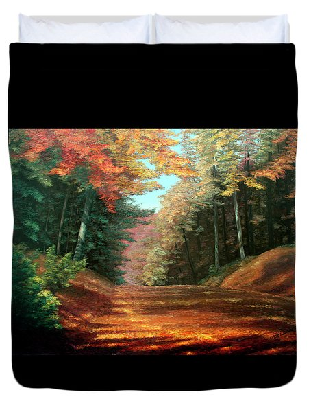 Cressman's Woods Duvet Cover by Otto Werner