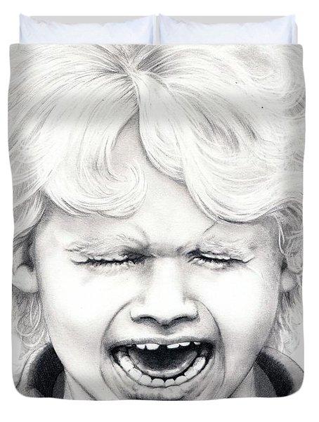 Cry Baby Duvet Cover by Murphy Elliott