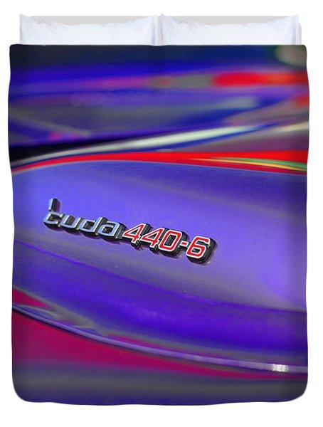 'cuda 440-6 Duvet Cover by Gordon Dean II