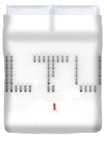 Culture Duvet Cover by Pixel Chimp