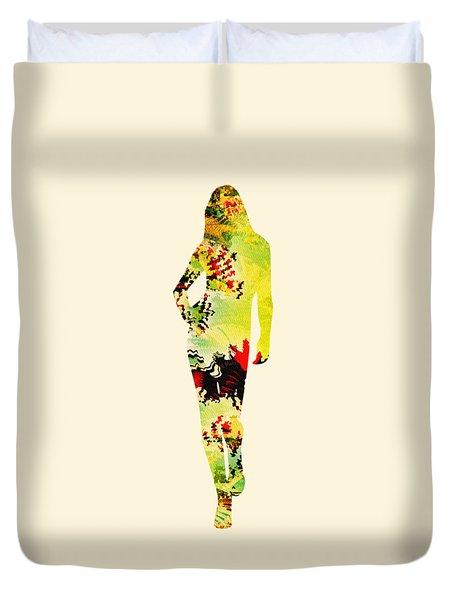 Cute Duvet Cover by Anastasiya Malakhova