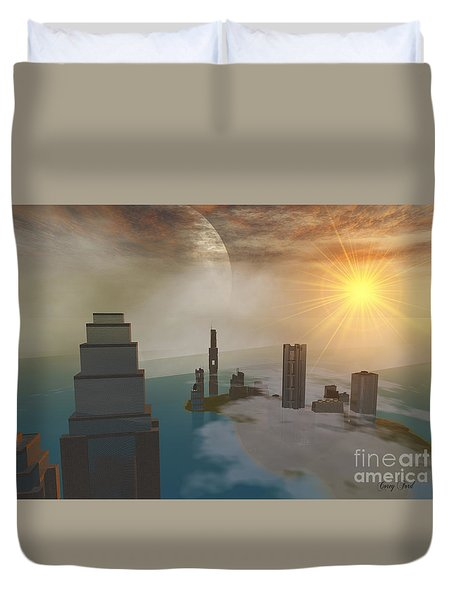 Czar City Duvet Cover by Corey Ford