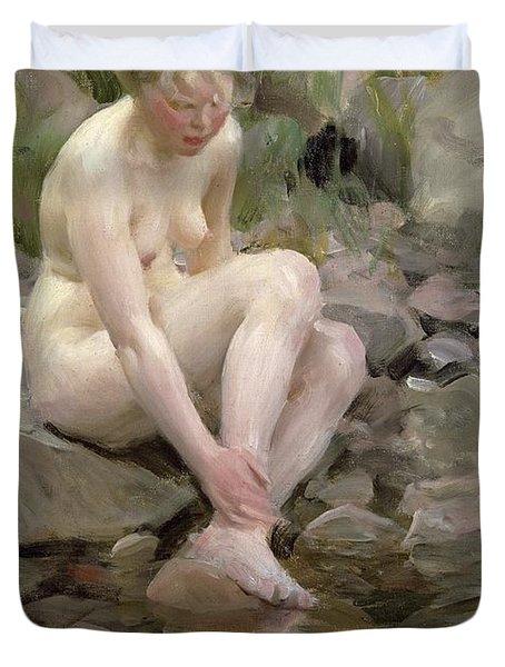 Dagmar Duvet Cover by Anders Leonard Zorn