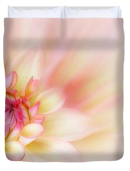 Dahlia Duvet Cover by John Edwards