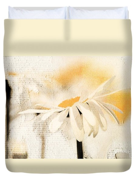 Daisyday - 56at01 Duvet Cover by Variance Collections