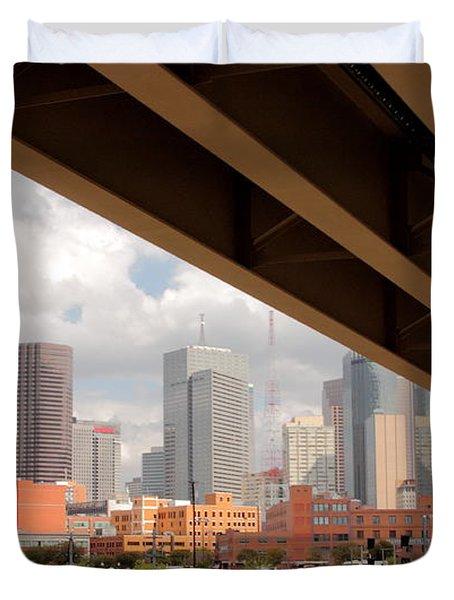 Dallas Backside Duvet Cover by Robert Frederick