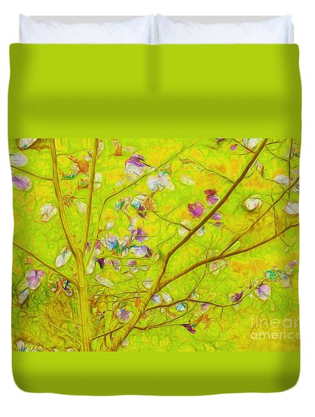 Dancing In The Wind 01 - 343 Duvet Cover by Variance Collections