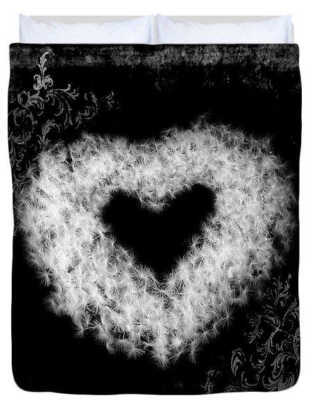 Dandelion Love Duvet Cover by Tamyra Ayles