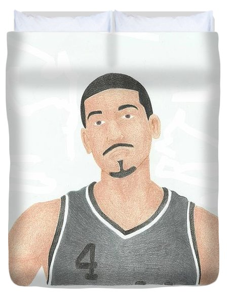 Danny Green Duvet Cover by Toni Jaso