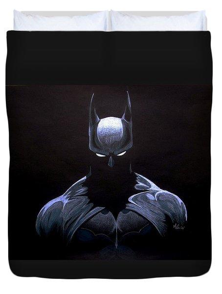 Dark Knight Duvet Cover by Marcus Quinn