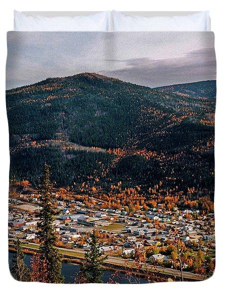 Dawson City - Yukon Duvet Cover by Juergen Weiss