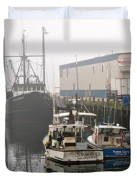 Day Off Duvet Cover by Bob Orsillo
