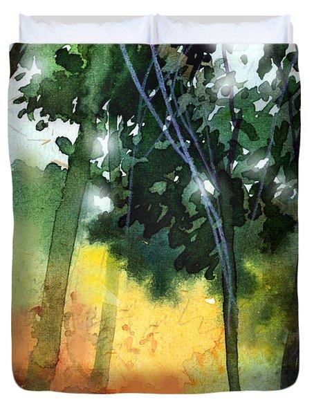 Daybreak Duvet Cover by Anil Nene