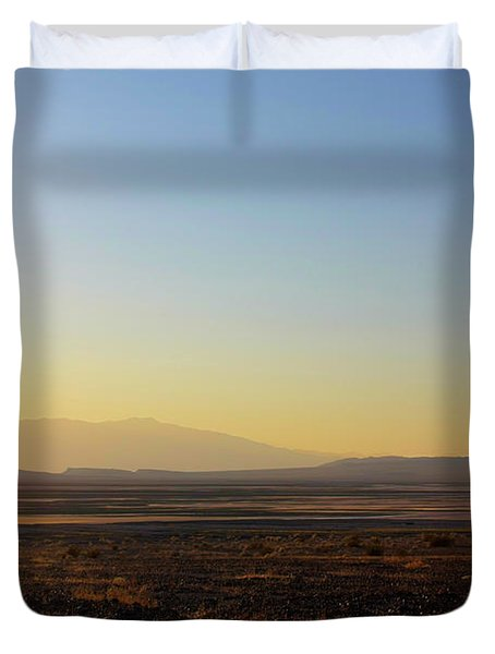 Death Valley -  A Beautiful but Dangerous Place Duvet Cover by Christine Till