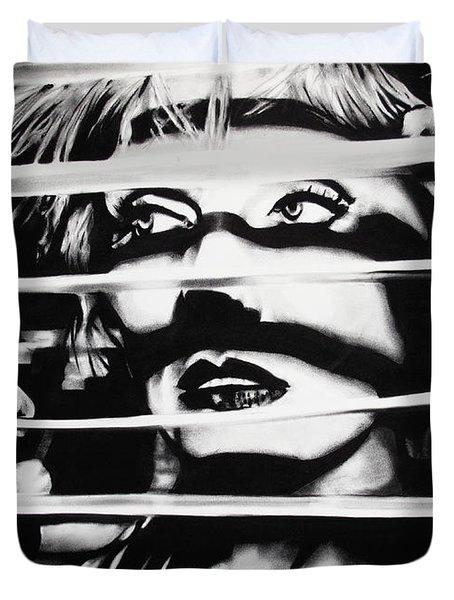 Deborah Harry Duvet Cover by Brian Curran