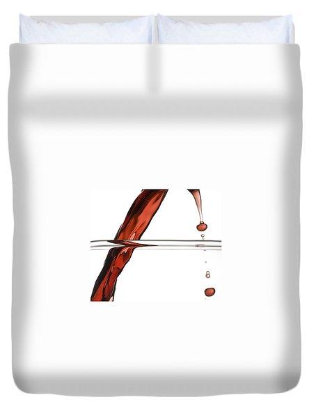 Decanting Wine Duvet Cover by Frank Tschakert