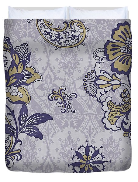 Deco Flower blue Duvet Cover by JQ Licensing