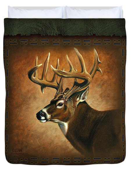 Deer Lodge Duvet Cover by JQ Licensing