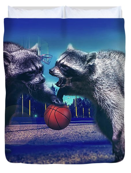 Defense Duvet Cover by Jonny Lindner