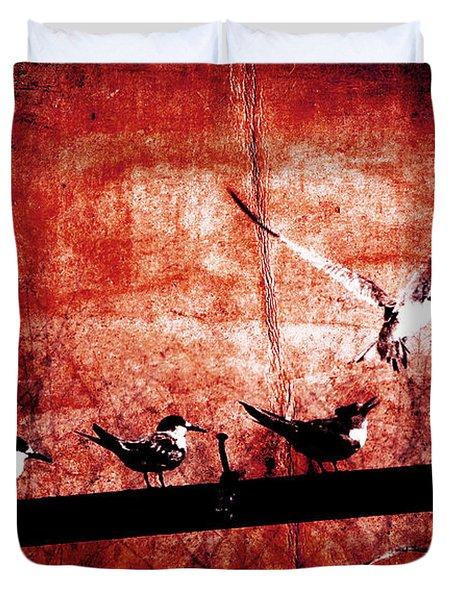 Defiance Duvet Cover by Andrew Paranavitana