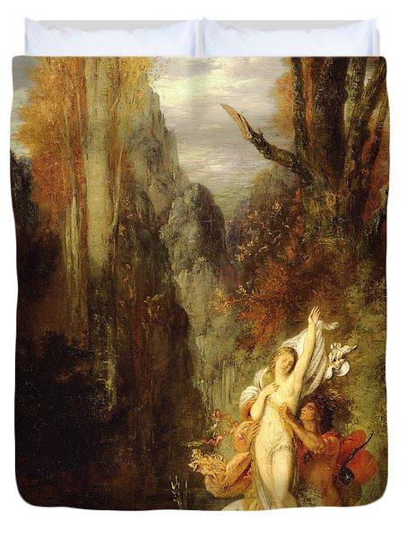 Dejanira  Autumn Duvet Cover by Gustave Moreau