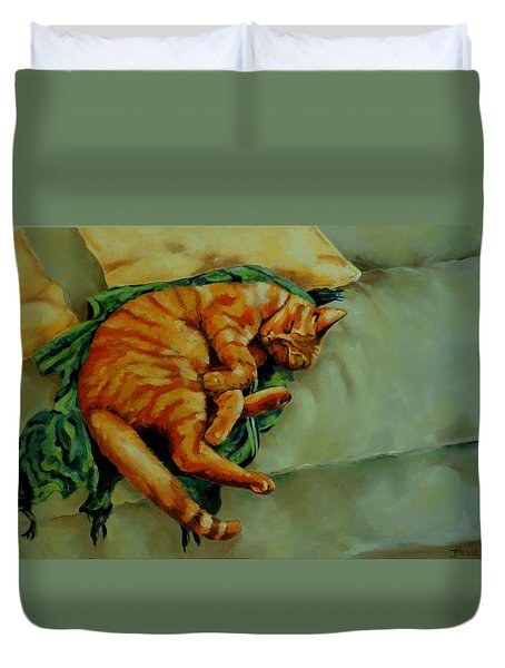 Delicious Sleep Duvet Cover by Jolante Hesse