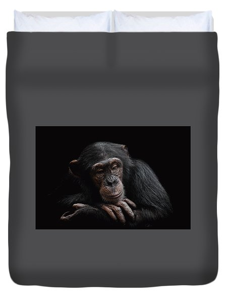 Depression  Duvet Cover by Paul Neville